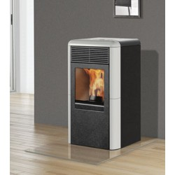STUFA A PELLET ITALIANA CAMINI MOD. POINT 8 KW