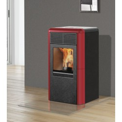 STUFA A PELLET ITALIANA CAMINI MOD. POINT PLUS 8 KW