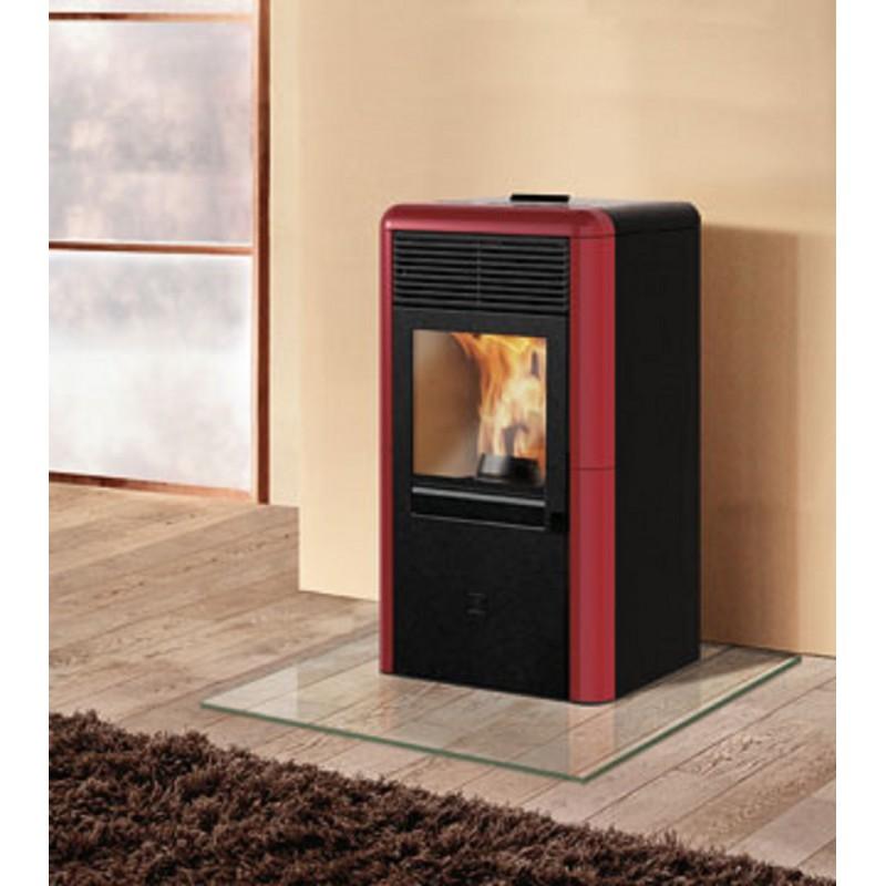 Termostufa a pellet italiana camini mod idropoint 11 5 kw - Edilkamin termostufe a pellet prezzi ...