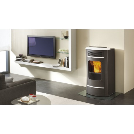 Termosufa a pellet edilkamin mod idrosally acciaio 16 2 kw ricambi per stufe - Edilkamin termostufe a pellet prezzi ...