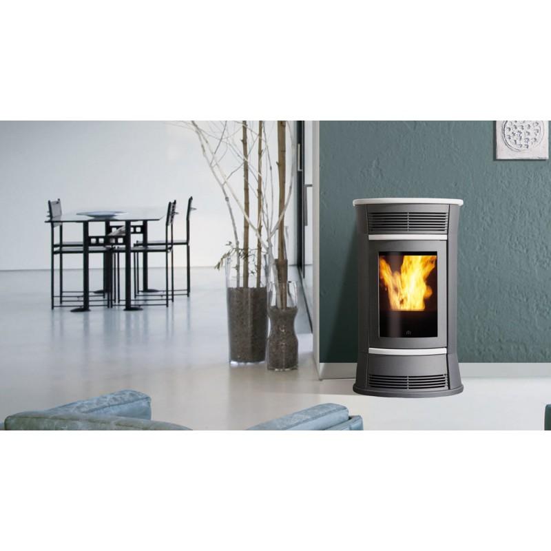 Termostufa a pellet edilkamin mod tresor 16 2 kw ricambi per stufe - Edilkamin termostufe a pellet prezzi ...