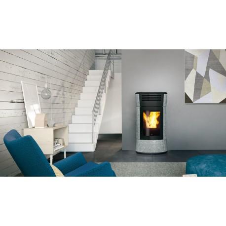 Termostufa a pellet edilkamin mod cherie up h pietra ollare 16 2 kw ricambi per stufe - Edilkamin termostufe a pellet prezzi ...