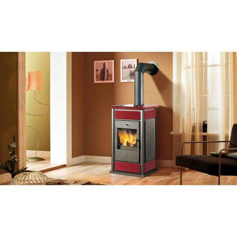 Termostufa a legna edilkamin mod warm 19 7 kw ricambi per stufe - Stufe a legna prezzi edilkamin ...